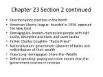 chapter 23 section 2 continued