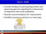 draft aar