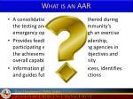 what is an aar
