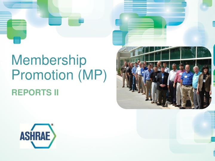 membership promotion mp n.