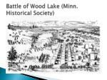 battle of wood lake minn historical society