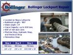 bollinger lockport repair