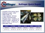 bollinger quick repair