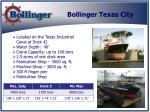 bollinger texas city