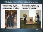what you may not know about ergonomics1