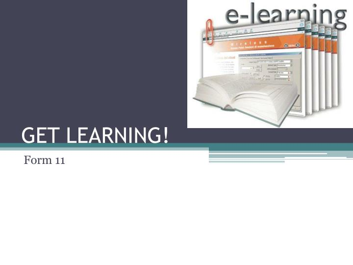 get learning n.