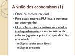 a vis o dos economistas 1