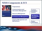 nims components ics4