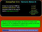 conceptest 13 1c harmonic motion iii