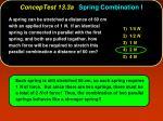 conceptest 13 3a spring combination i