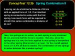 conceptest 13 3b spring combination ii