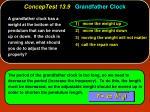 conceptest 13 9 grandfather clock