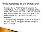 what happened to the dinosaurs2