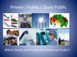 private public quasi public