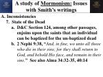 a study of mormonism issues with smith s writings11