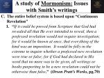 a study of mormonism issues with smith s writings16