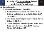 a study of mormonism issues with smith s writings6