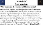 a study of mormonism1