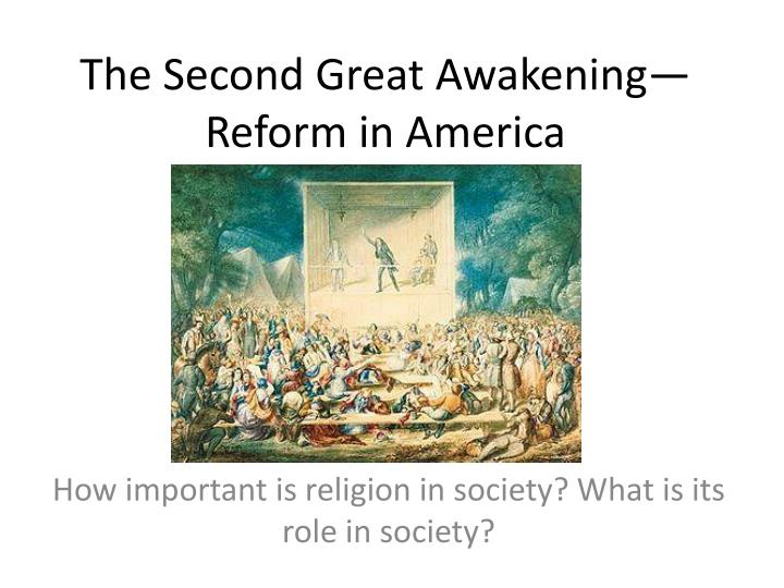 the role and importance of religion in society This article discusses the significance of civil religion in american society religion is a distinctive feature in the political life of the united states while the majority of americans feel that it should be accorded greater influence in the nation's life, the us congress, however, mandates a clear boundary between organized religious bodies and civil society.