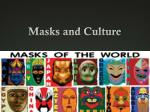masks and culture