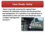 case study aviva