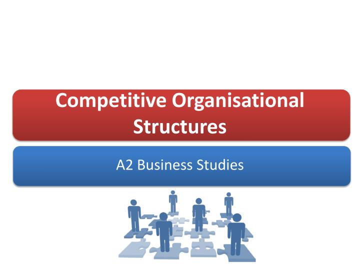 competitive organisational structures n.
