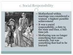 c social responsibility