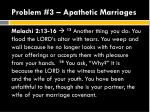 problem 3 apathetic marriages1