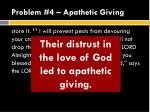 problem 4 apathetic giving5