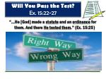 will you pass the test ex 15 22 27