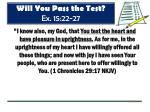 will you pass the test ex 15 22 279
