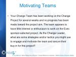 motivating teams