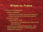 britain vs france