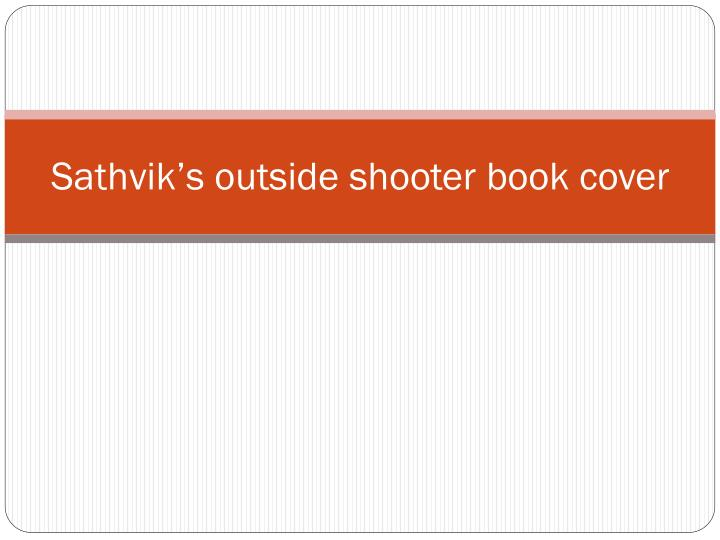 sathvik s outside shooter book cover n.