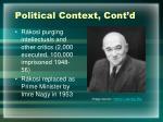 political context cont d1