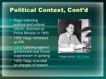 political context cont d2