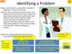 identifying a problem2