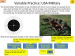 variable practice usa military2