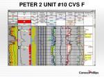 peter 2 unit 10 cvs f