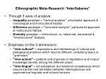 ethnographic meta research intersaberes7