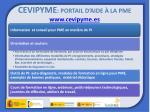 cevipyme portail d aide la pme www cevipyme es
