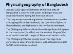 physical geography of bangladesh2