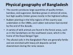 physical geography of bangladesh4