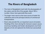 the rivers of bangladesh