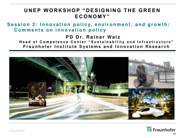 unep workshop designing the green economy n.