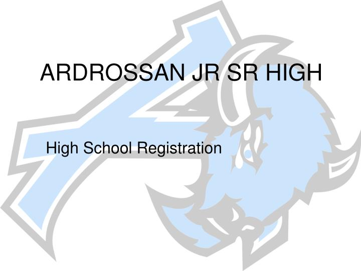 ardrossan jr sr high n.