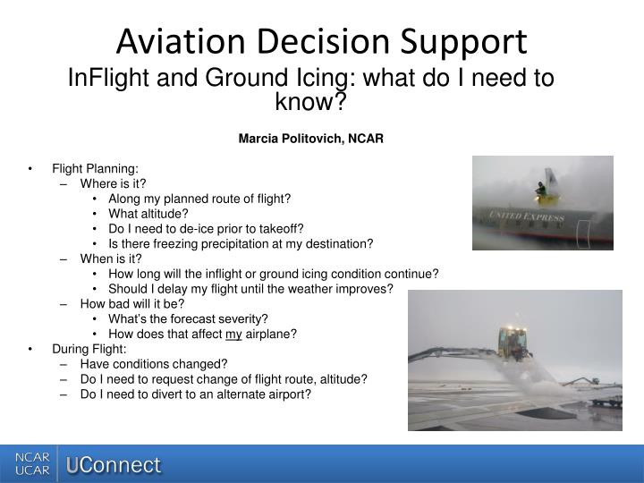 aviation decision support n.