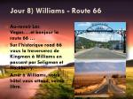 jour 8 williams route 66