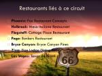 restaurants li s ce circuit