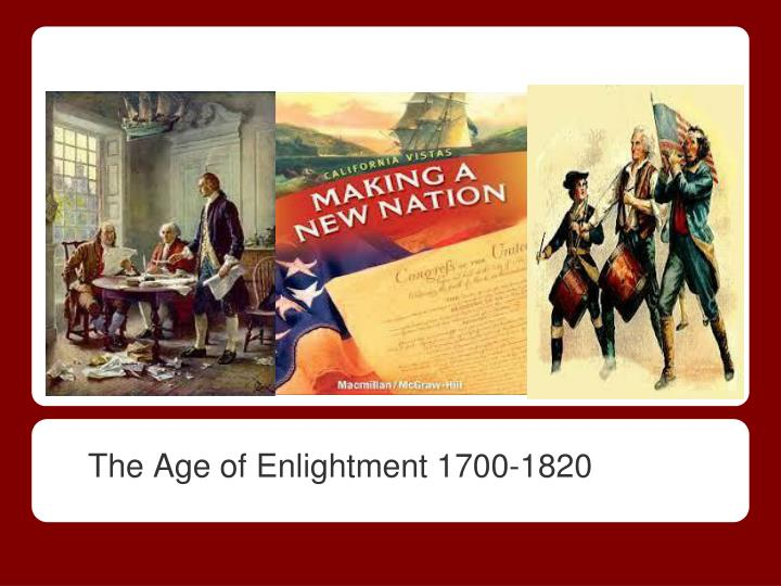the age of enlightment 1700 1820 n.